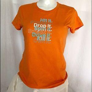 WILSON Orange Sport T-Shirt
